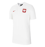 2020-2021 Poland Authentic Polo Shirt (White)