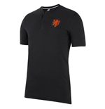 2020-2021 Holland Authentic Polo Shirt (Black)