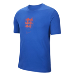 2020-2021 England Evergreen Crest Tee (Sport Royal)