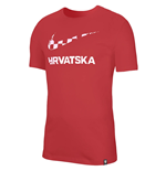 2020-2021 Croatia Ground Tee (Red)