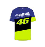 Mens T-SHIRT Racing Blue Royal Yamaha