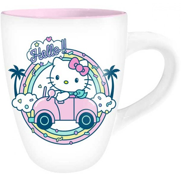 Hello Kitty Rainbow 25 Ounce Ceramic Mug