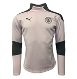 2020-2021 Man City Training Fleece (Lilac Snow)