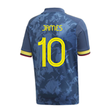 2020-2021 Colombia Away Adidas Football Shirt (Kids) (JAMES 10)