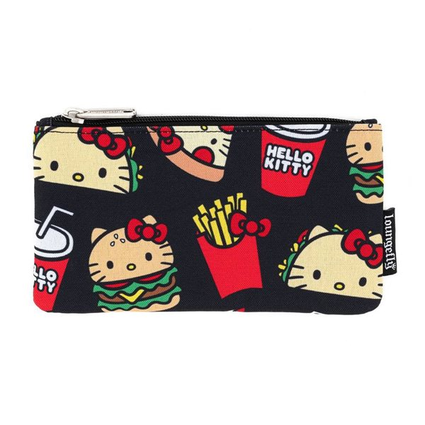 Hello Kitty by Loungefly Coin/Cosmetic Bag Snacks AOP