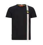 Mens Italian Flag Tee  Black