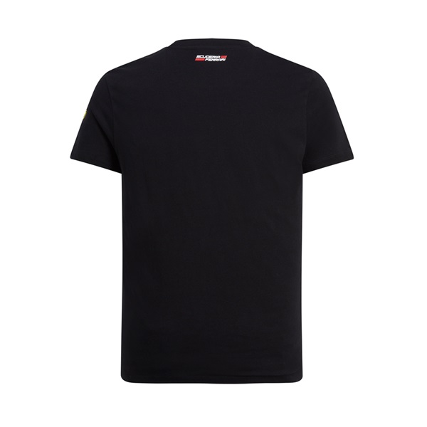 Mens Mono Shield  Graphic Tee Black