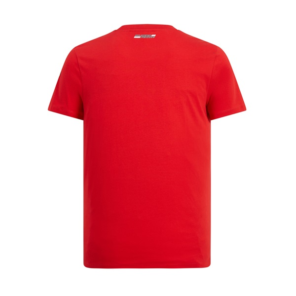 Mens Mono Shield  Graphic Tee Red