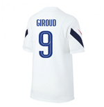 2020-2021 France Nike Training Shirt (White) (GIROUD 9)