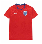 2020-2021 England Nike Pre-Match Training Shirt (Red) - Kids