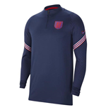 2020-2021 England Nike Training Drill Top (Navy)