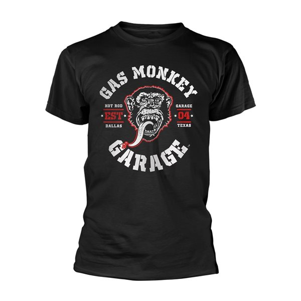 Gas Monkey Garage T-Shirt Red Hot