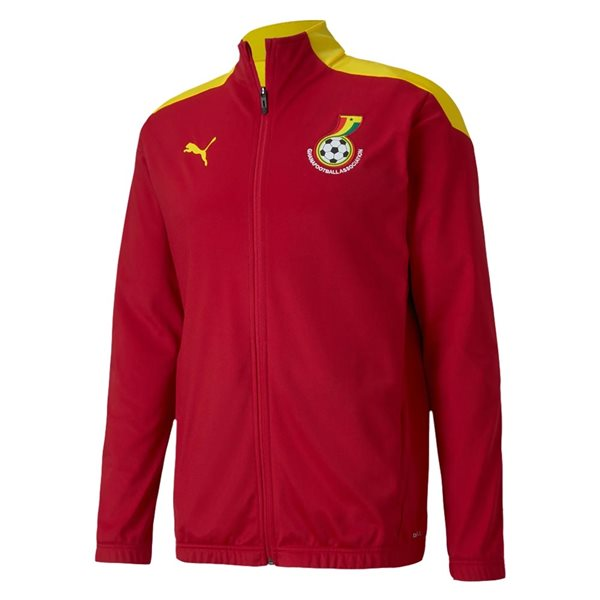 2020-2021 Ghana Stadium Jacket (Red)