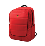 Scuderia Ferrari Simplified Backpack RED/BLACK Piping 15""