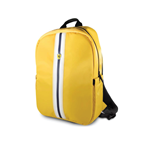 "Backpack 15"" Pista Nylon Metal Logo With Usb Connector -yellow"