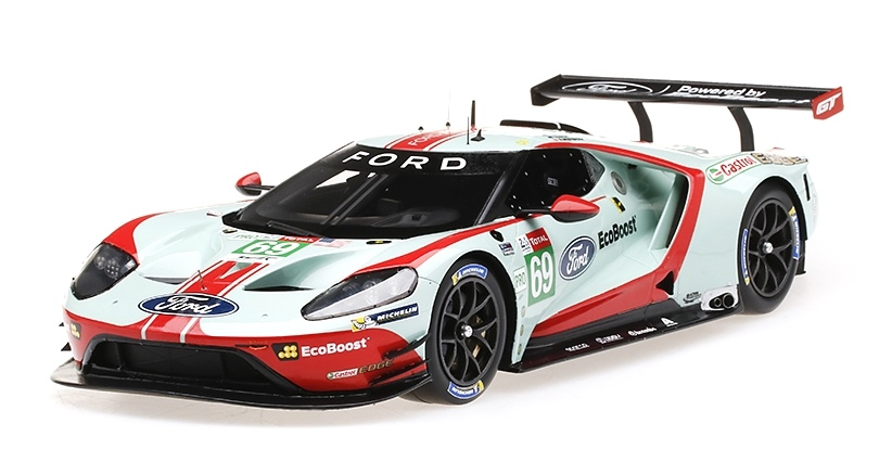 FORD GT #69 FORD CHIP GANASSI TEAM USA LM GTE-PRO 24H LE MANS 2019 TOP SPEED