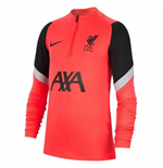 2020-2021 Liverpool CL Drill Training Top (Laser Crimson) - Kids