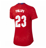 2020-2021 England Pre-Match Top (Red) - Womens (Phillips 23)