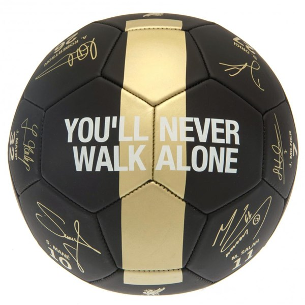 Liverpool FC Premier League Champions Football Signature PH