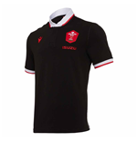 2020-2021 Wales Alternate SS Cotton Rugby Shirt