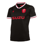 2020-2021 Wales Alternate Poly Rugby Shirt (Kids)