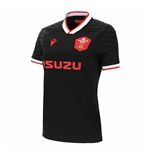 2020-2021 Wales Alternate Poly Replica Rugby Shirt (Womens)
