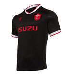2020-2021 Wales Alternate Poly Replica Rugby Shirt