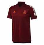 2020-2021 Real Madrid EU Training Jersey (Maroon)
