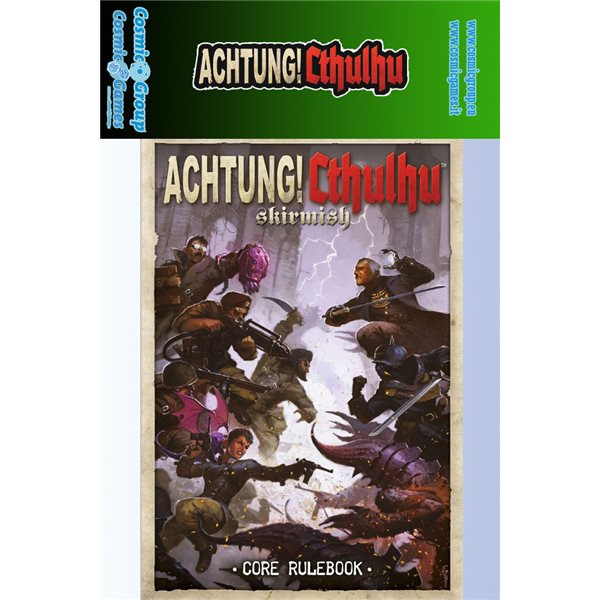 Achtung CTHULHU! Rulebook Board Game