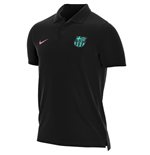 2020-2021 Barcelona Matchup Core Polo Shirt (Black)