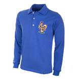France 1950\'s Long Sleeve Retro Football Shirt