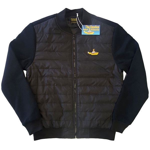 The Beatles Unisex Quilted Jacket: Yellow Submarine