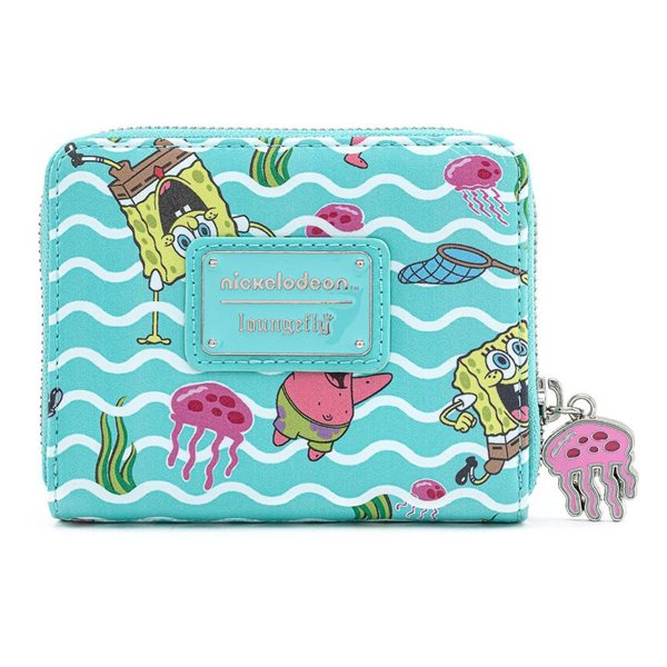 SpongeBob SquarePants by Loungefly Wallet Jelly Fishing