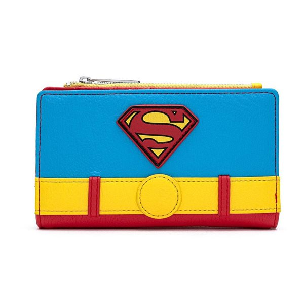 DC Comics by Loungefly Wallet Vintage Superman Cosplay