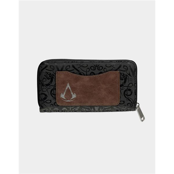 Assassin's Creed Valhalla Zip Around Wallet Tribal