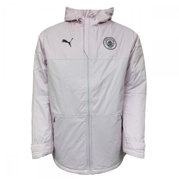 2020-2021 Man City Winter Jacket (Lilac Snow)