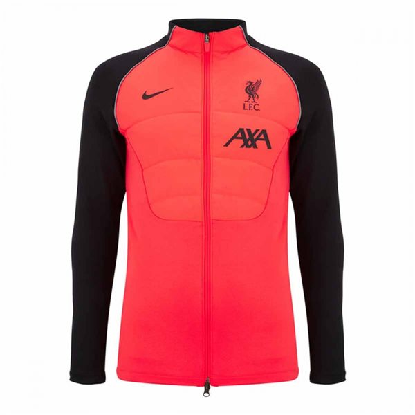 2020-2021 Liverpool Football Drill Jacket (Crimson)