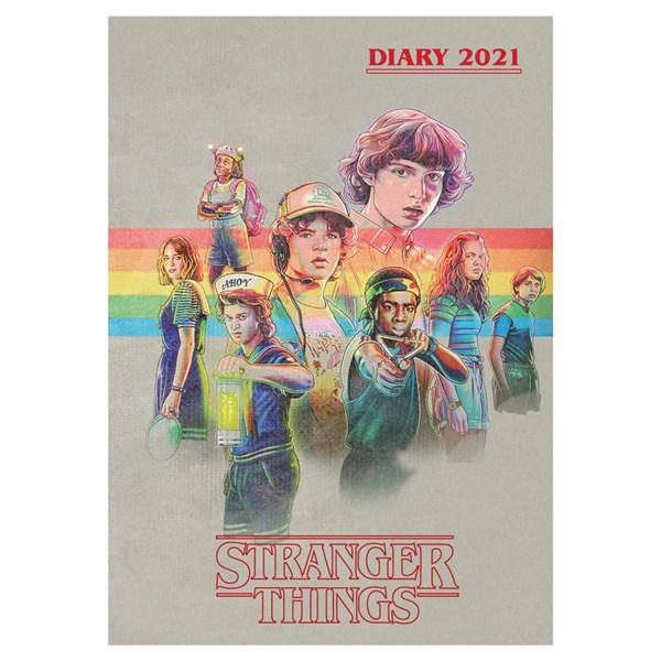 Stranger Things A5 Diary 2021