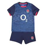 England RFU Shirt & Short Set 18/23 mths NV