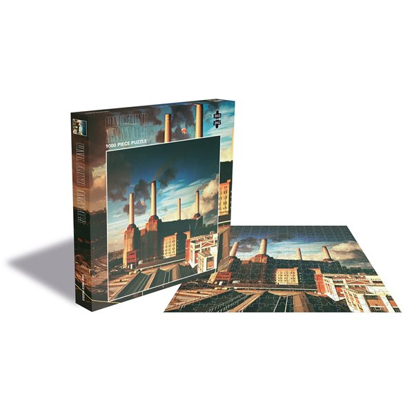 Pink Floyd Puzzle Animals (1000 Piece Jigsaw PUZZLE)