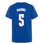 2020-2021 England Ground Tee (Blue) (Maguire 5)