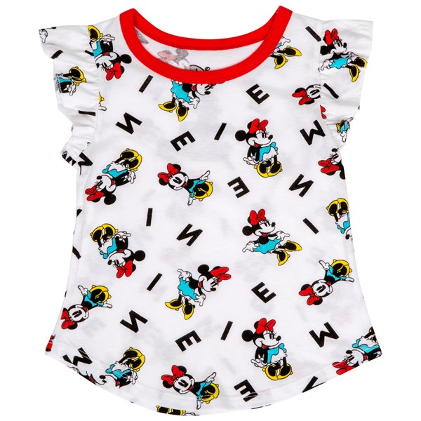 Minnie Mouse Disney Character All Over Kids T-Shirt