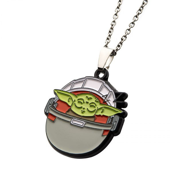 Star Wars The Mandalorian The Child Sleeping Pod Necklace