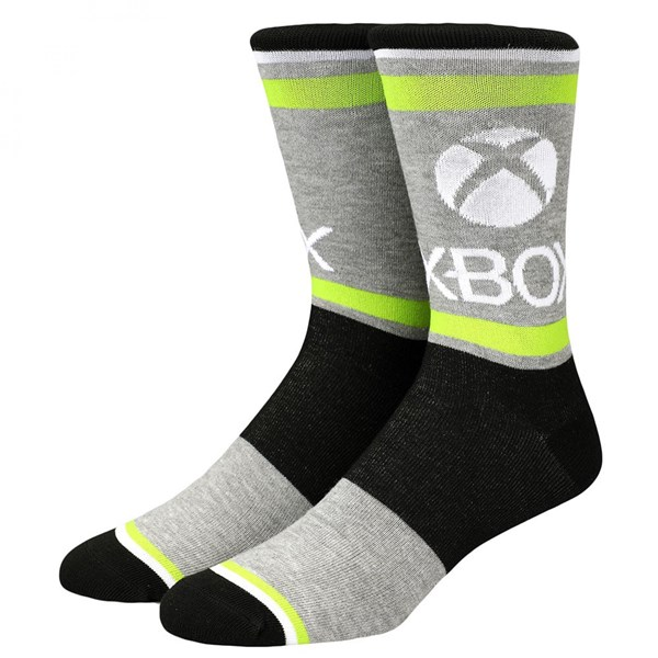 X-Box System Symbols 3-Pack of Crew Socks
