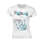 Disney T-shirt Princess Ariel Pastel Wash