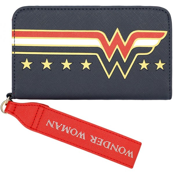 Wonder Woman Symbol Phone Case Wallet Wristlet