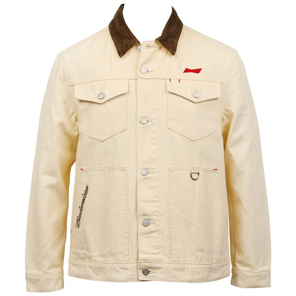 Budweiser Clydesdale Canvas Work Jacket