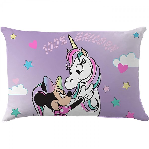 Disney Minnie Mouse Character 100 percent Unicorn Decorative Pillow