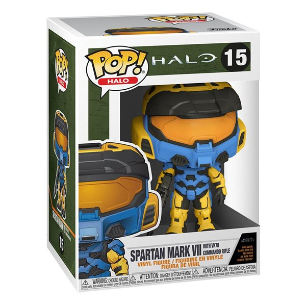 Halo Infinite POP! Games Vinyl Figure Mark VII (Deco) w/case 9 cm