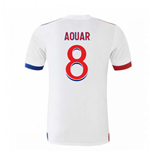 2020-2021 Olympique Lyon Adidas Home Football Shirt (Kids) (AOUAR 8)